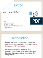 PRESENTATION ON RF MIXERS