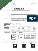 Sideral Catalogo