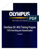 OmniSX_MX2_Training_16J TOFD Flaw Sizing and Characterization