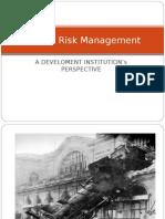 Presentation 1 Project Risk Management