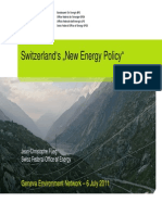 Switzerland New Energy Policy Gen 6 July 2011