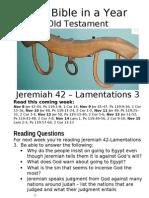 2 OT Jeremiah 27 to 44
