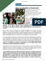 Por Que No Prosperan Las Protestan en Colombia Dinero