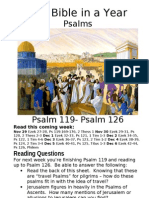 5 PS Psalm 119 to Pslam 126