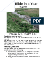 6 PS Psalm 126 to Pslam 133