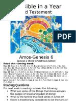 8 OT Amos to Genesis 6
