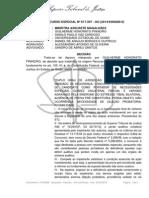 Julgamento Agravo no STJ Guilherme Honorato Pinheiro