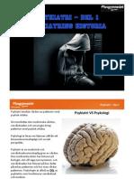 Psykiatri Del 1 - Historia