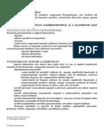 fiziopatologia tractului gastrointestinal si a glandelor sale anexe