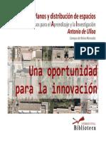 Planos del CRAI Antonio de Ulloa