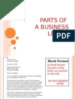 partsofabusinessletterpowerpoint