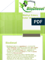 Biodiesel Methyl Ester