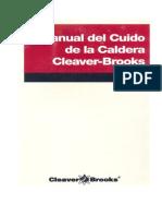 Manual Del Cuidado de La Caldera - Cleaver y Brooks