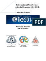 Program IE 2014