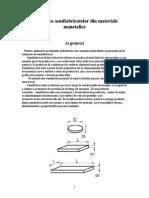Elaborarea Semifabricatelor Din Materiale Nemetalice