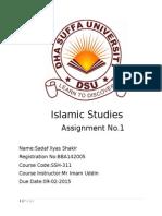 Sadaf Shakir(Complete)