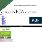La Crónica de Hoy | Balance de la LXII Legislatura - Dr. Manuel Añorve Baños