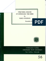 1972 Structural Analysis of Hydrologic Time Series (Yevjevich v, 1972)