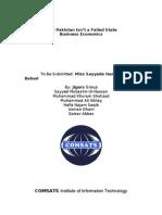 Economics Project Final Version
