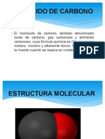 Monoxido de Carbono Diapositivas