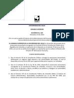 Acuerdo 025 Administrativos UNIVALLE