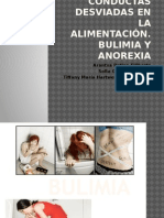Conductas Desviadas en La Alimentación. Bulimia y Anorexia