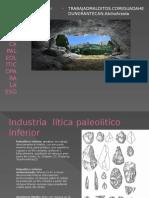 industria litica prehistoria