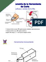 Geometria de La Herramienta