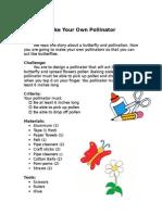 polination lesson design brief