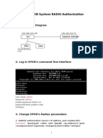 EPON System RADIUS Authorization  User Manual.doc