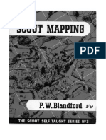 (BSA) Blandford, P.W. - Scout Mapping (1963)