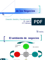 Ambiente Económico, Político, Legal y Tecnológico