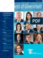 The Business of Government Magazine Spr 2014