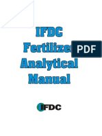 International Fertilizer Development Center - Analytical Manual