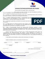 Termo de Compromisso de Desenvolvimentode Projeto