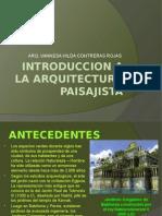 Introduccion a La Arquitectura Paisajista
