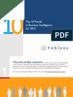 Tableau_Top BI Trends