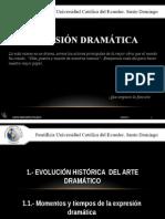 Expresión Dramática. Unidad 1