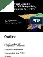 Reservoir saturation tool