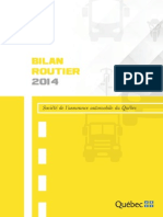 SAAQ 2014 road deaths report