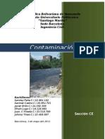 Contaminación Hidrográfica