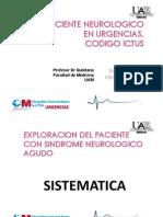 El Paciente Neurológico en Urgencias. (Apoyo Complementario)PDF