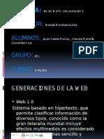Generaciones de La Web 1.0