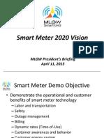 SmartMeterRFPPresentation_SmartMeterVision04112013