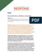 """""""Kinas aggressiva utrikespolitik"""", för Respons"""