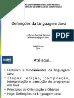 3 - Definições Da Linguagem