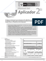 Manual del Aplicador 2doGrado (ECE)