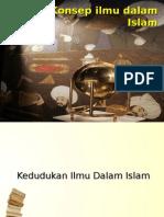 Konsep Ilmu Dalam Islam