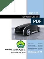 Toyota Fun Vii-Futuristic Interactive Car