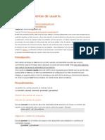 Gestion de Cuentas de Usuario Linux